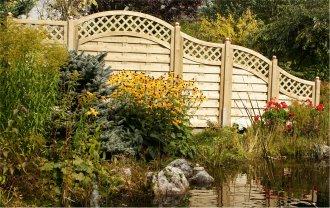 Garten designideen vorgartengestaltung modern holzzaun for Gartengestaltung janzen